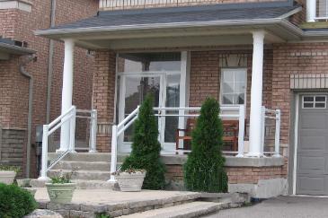 Aluminum Railing Awning Porch Enclosure Front Doors